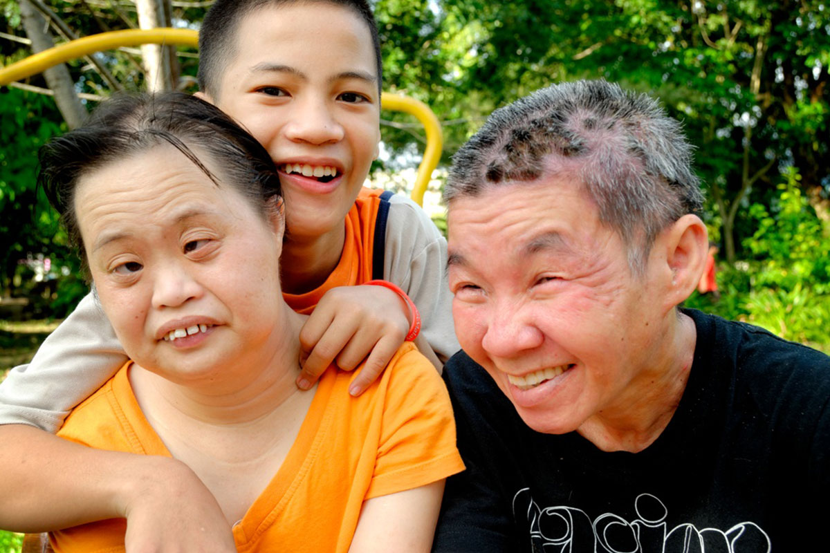 Bukit Harapan special people and child