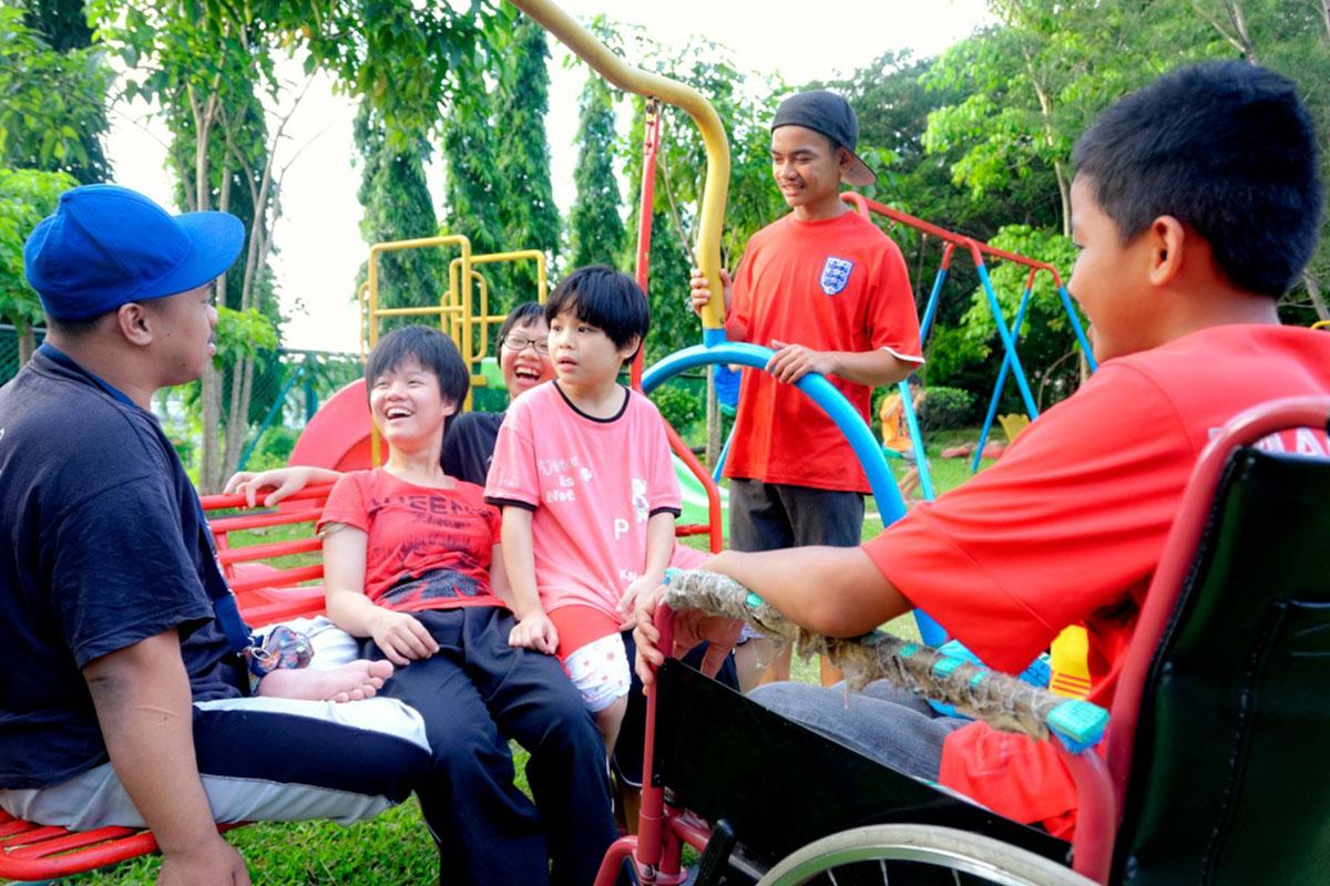 Bukit Harapan special children