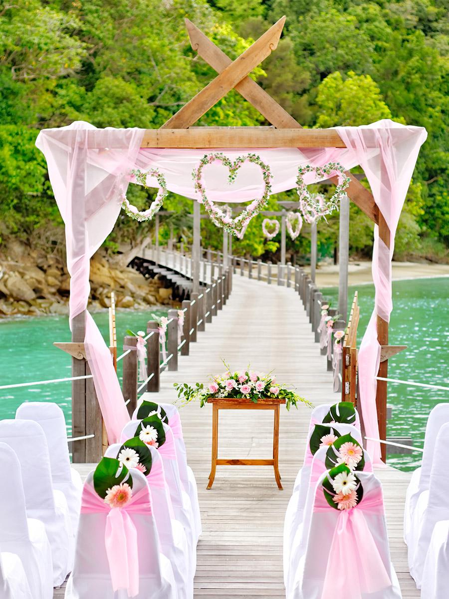 Bungaraya Island Resort Wedding Celebration