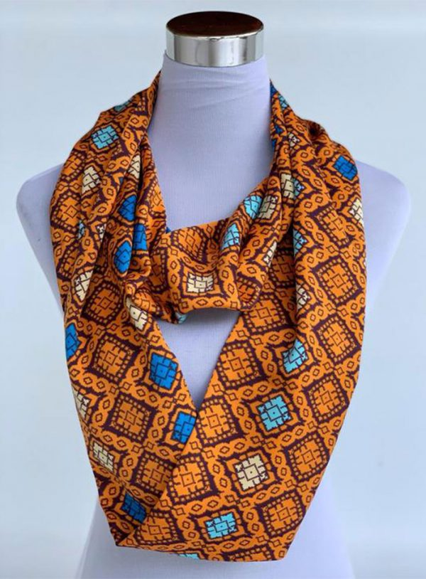 Changgih Infinity Scarf Orange