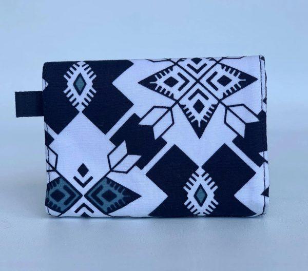 Changgih Black-White Mini Wallet Back