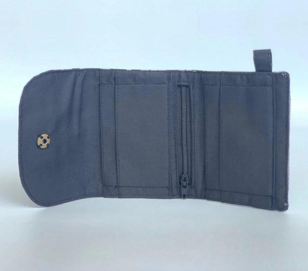 Changgih Blue-Teal Mini Wallet Inside
