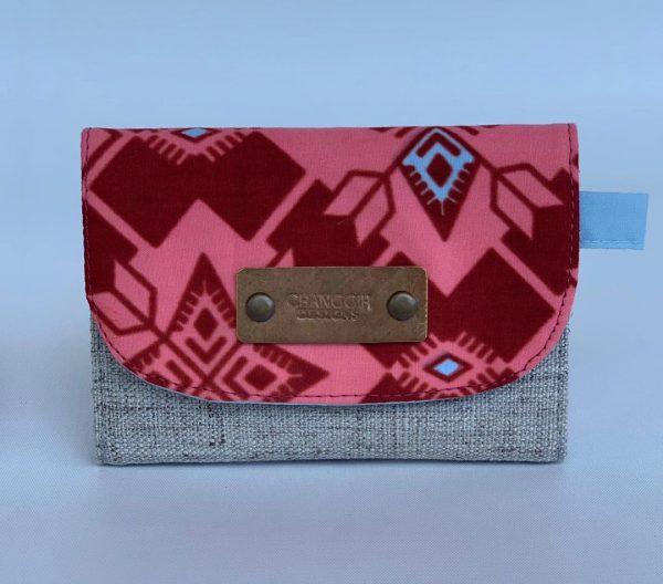 Changgih Red Mini Wallet Front